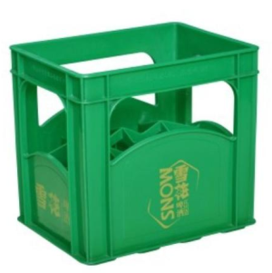 12 Bolttles Plastic Crates For Beer