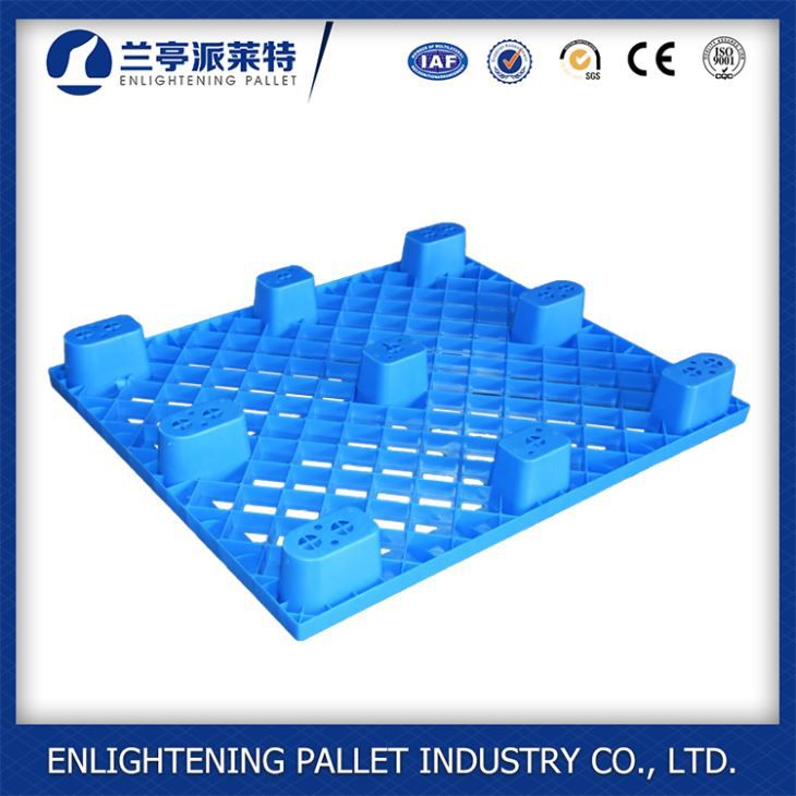 1100x1100x140mm disposable Nestable black one way shipping plastic Pallet